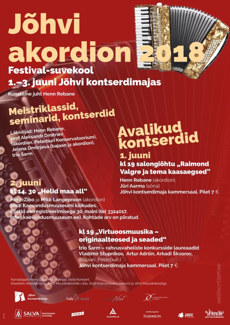 Jõhvi accordion 2018
