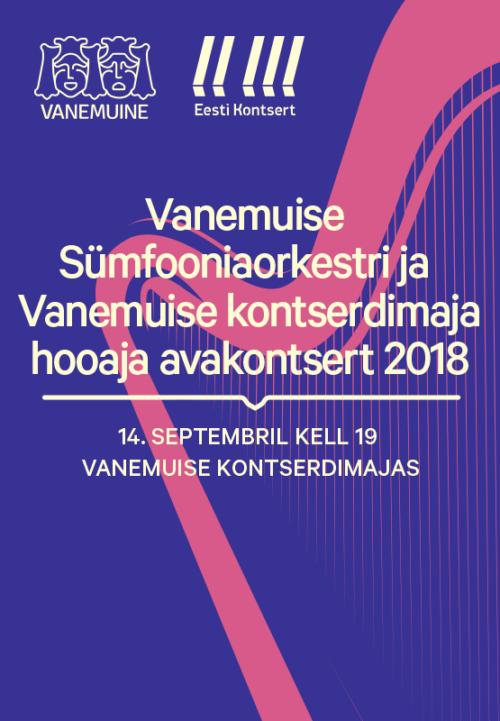 Vanemuine Concert Hall season opening concert