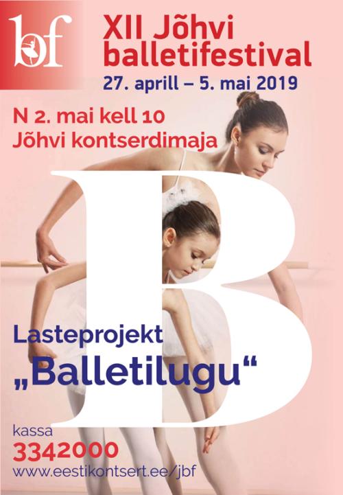 Jõhvi balletifestival: Laste balletigala