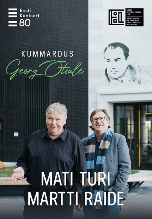 Tribute to Georg Ots. Mati Turi (tenor), Martti Raide (piano)