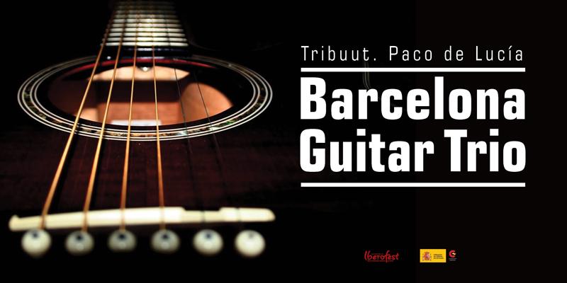 """Tribuut. Paco de Lucía"" Barcelona Guitar Trio"