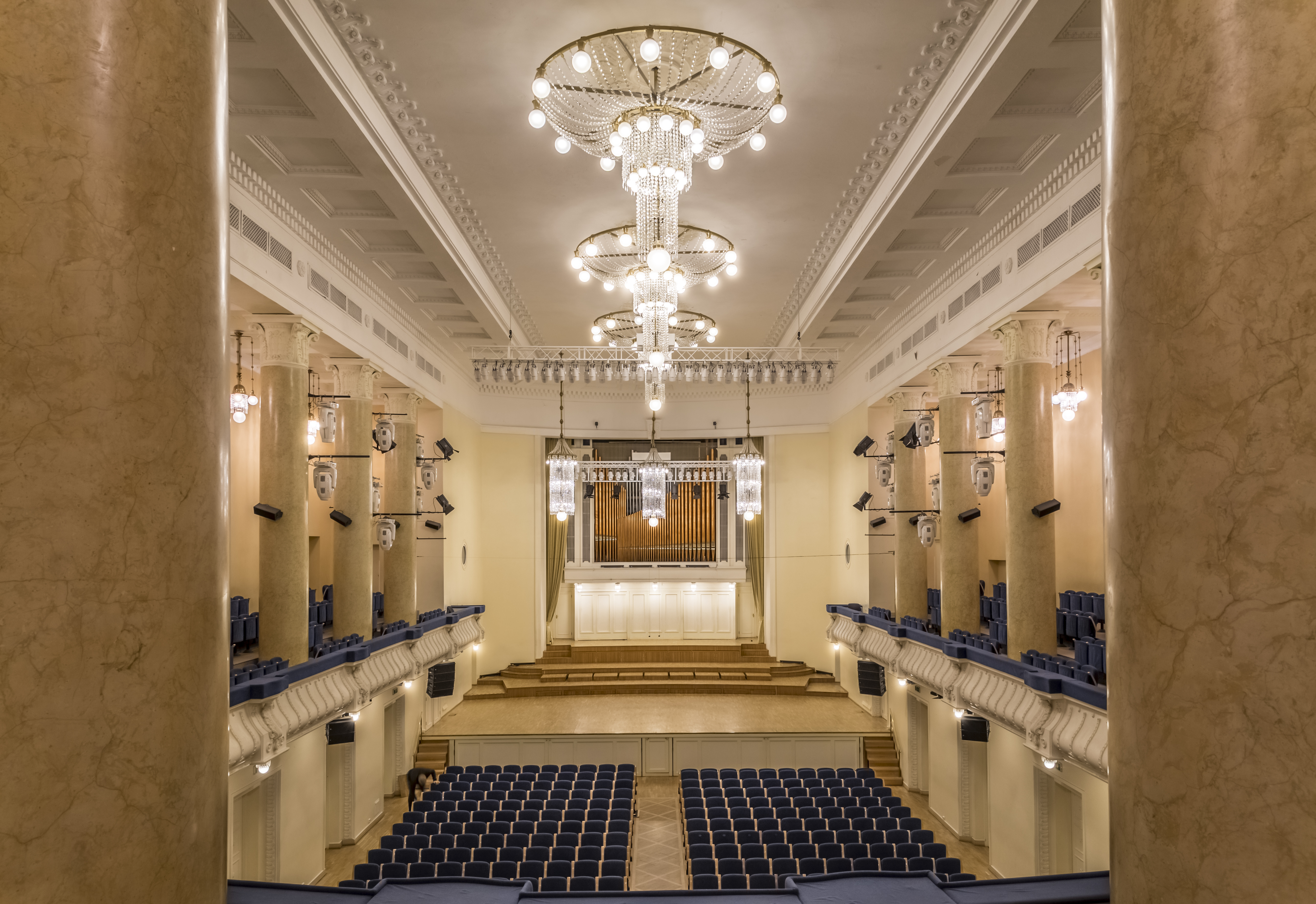Аренда концертных залов