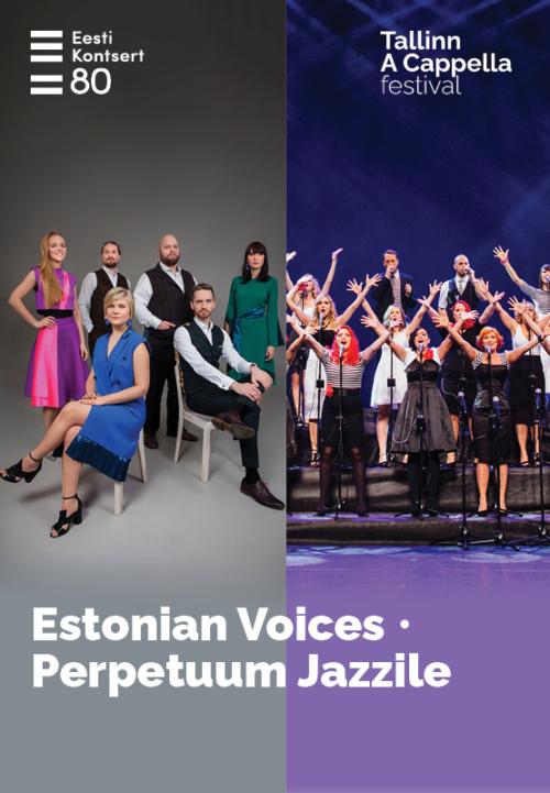 Tallinn A Cappella. Estonian Voices, Perpetuum Jazzile (Slovenia)